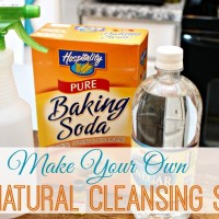 Make Your Own All Natural Disinfectant Cleansing Spray with 4 Ingredients