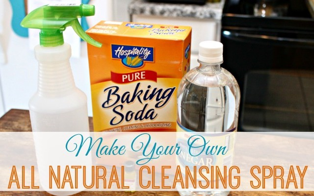 Make Your Own All Natural Cleaning Spray
