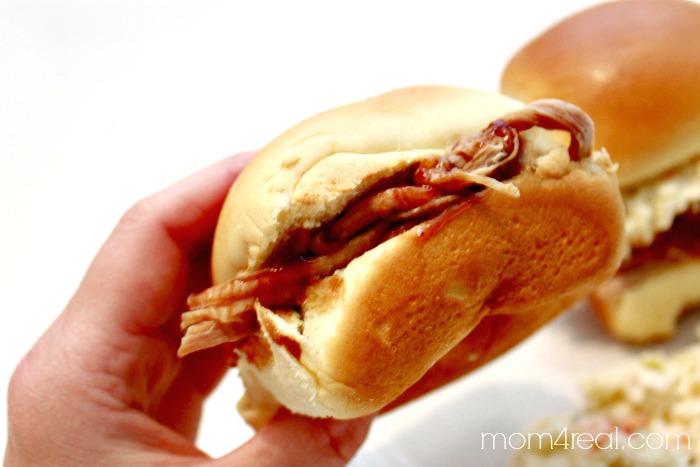 Pulled Pork BBQ Sliders - Crock Pot Recipe