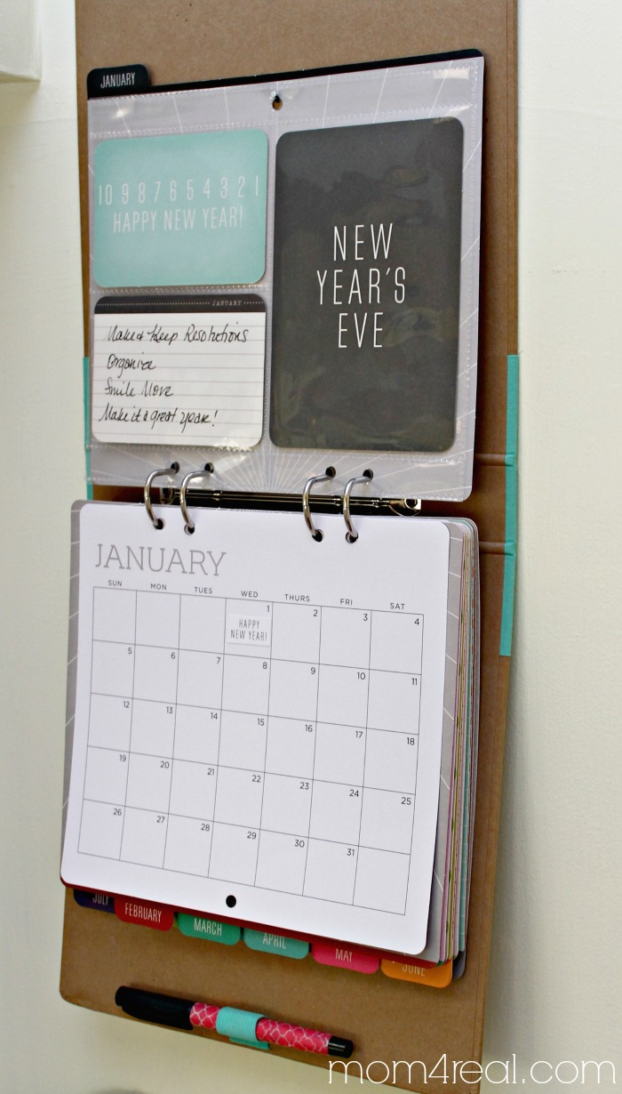 Diy Calendar Organizer : Michaels recollections calendar kit an amazing gift