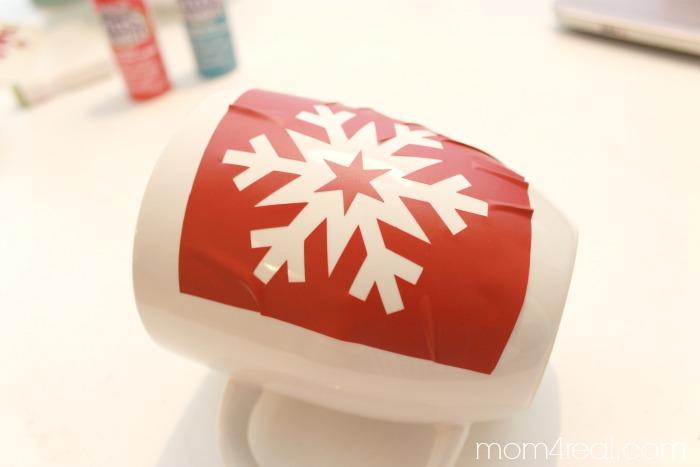 Stencil a coffee cup/ #shop