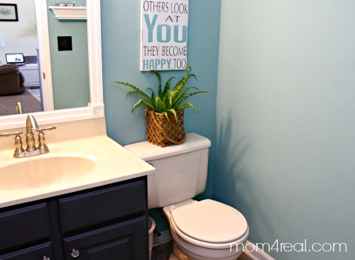 cheap small bathroom makeovers budget bathroom makeover 4 real 17718