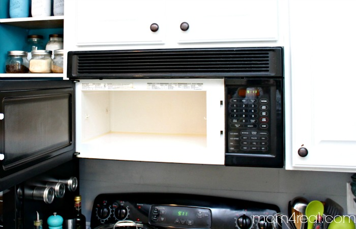how to clean an used microwave