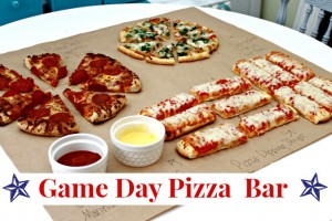 Game Day Pizza Bar