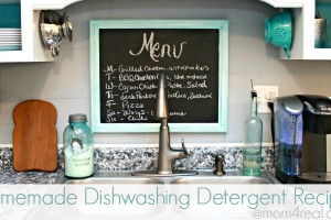 Homemade Dishwashing Detergent Recipe at Mom 4 Real