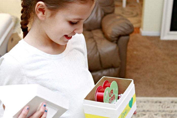 Make a Valentine Gift Box