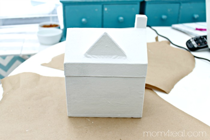 Make a fun Valentine Gift Box
