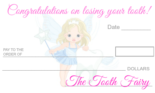 picture regarding Tooth Fairy Printable identify Teeth Fairy Examine or Revenue ~ No cost Printable - Mother 4 Accurate
