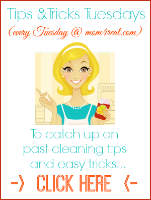 Tons of Cleaning and Organizing Tips and Tricks at mom4real.com