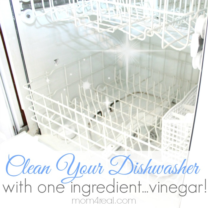 Get a Super Clean Dishwasher with Vinegar!
