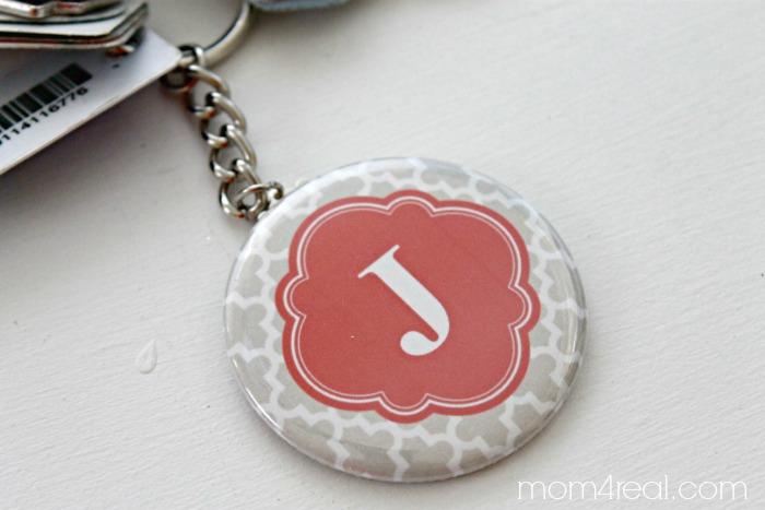 Zazzle J Keychain