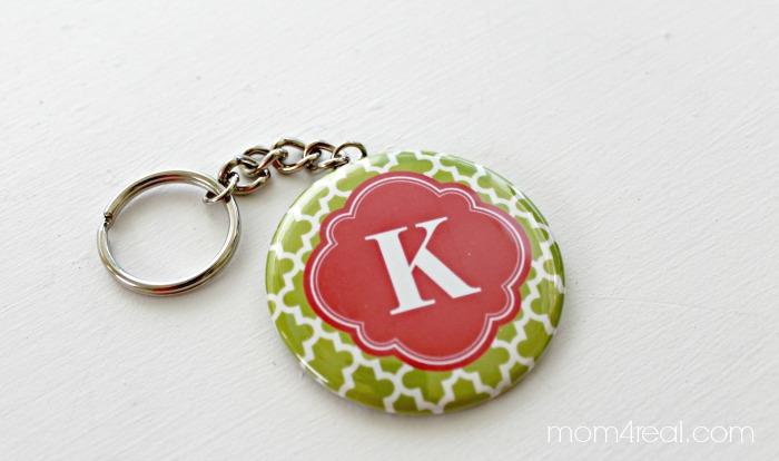 Zazzle K Keychain