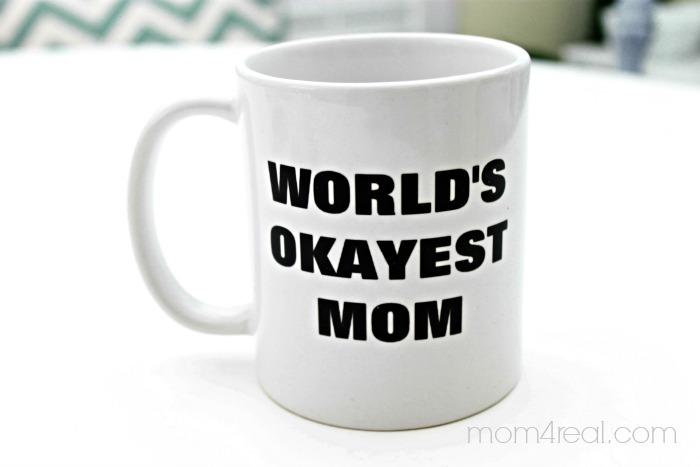 Zazzle World's Okayest Mom Coffee Mug