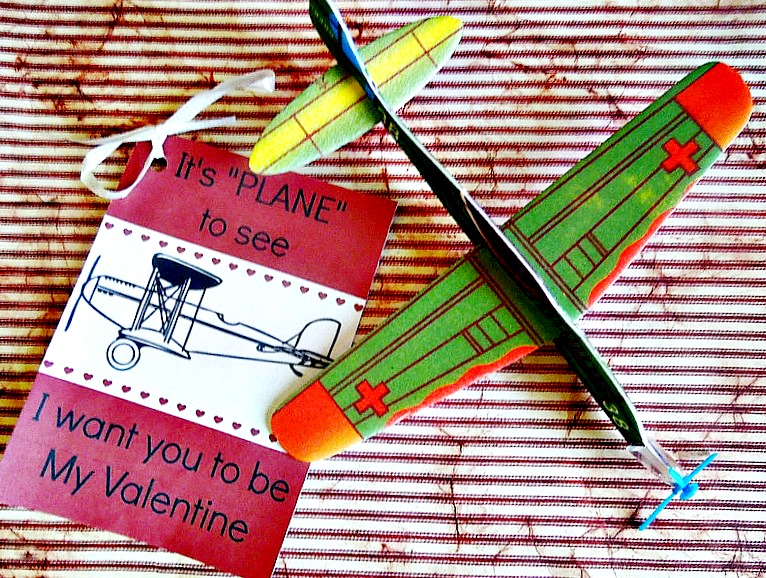 Boys Valentine Airplane Idea