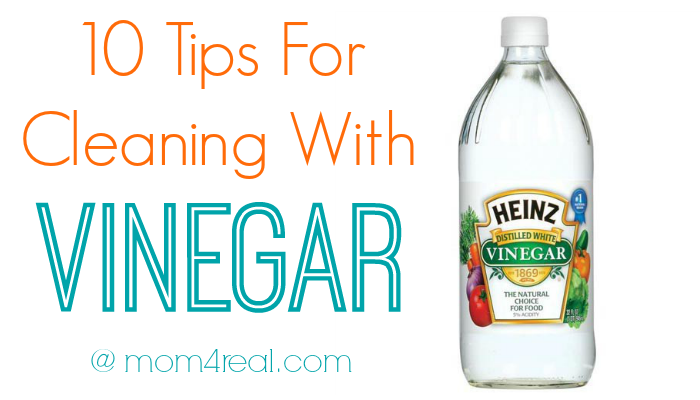 10 Tips For Cleaning with Vinegar and many more Natural Cleaning Tricks