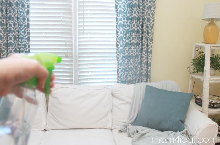 Homemade Fabric Refresher Spray