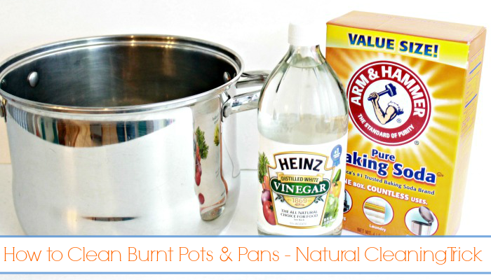 How To Clean Burnt Pots And Pans Natural Cleaning Trick Mom 4 Real