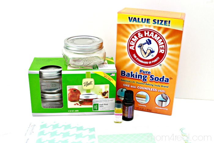 Make your own air freshening odor absorber with baking soda