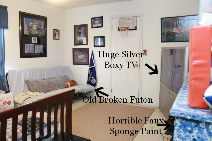 Teen Bedroom Makeover Before