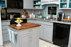 Thrift-Store-Microwave-Cart-Turned-Kitchen-Island