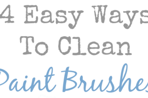 4 Easy Ways To Clean Paint Brushes at mom4real.com