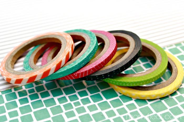 Amy Tangerine Washi Tape