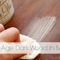 How To Age Dark Wood In Minutes