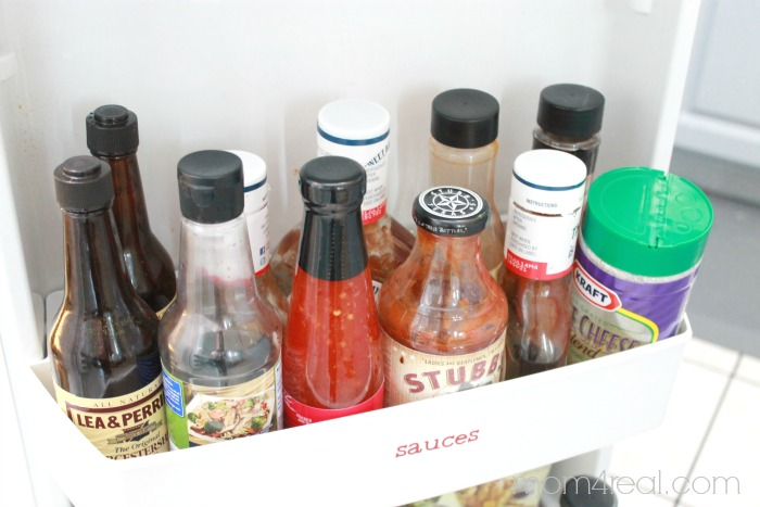 Keep all of your sauces in one spot