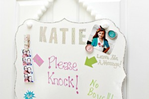 Make a DIY Dry Erase Board