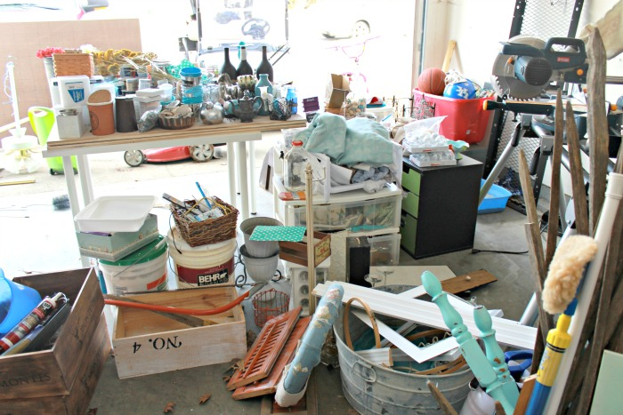 Mess In The Garage