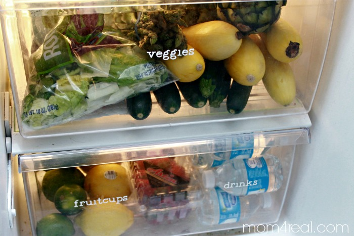 Organized Refrigerator On a Budget
