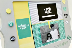 Picture Frame Photo Display with Amy Tangerine