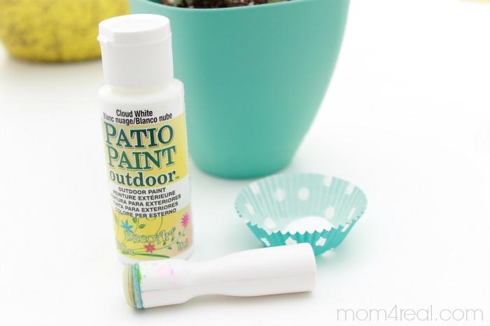Polka Dot Flower Pots Supplies