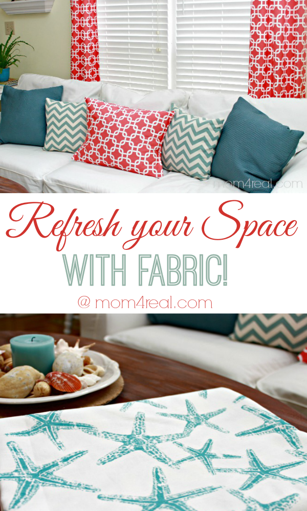 Refresh Your Space With Fabric