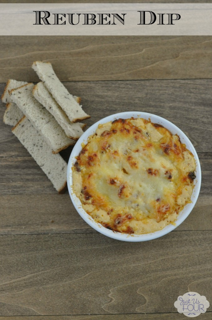 Just Us Four Reuben Dip