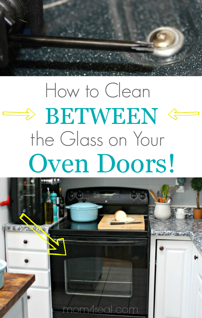 How to Clean Between the Glass on Your Oven Doors