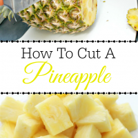 How to Cut a Pineapple Into Chunks - Step by Step Instructions