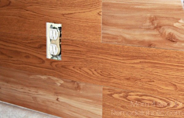 Make-a-plank-wall-using-peel-and-stick-vinyl-600x385