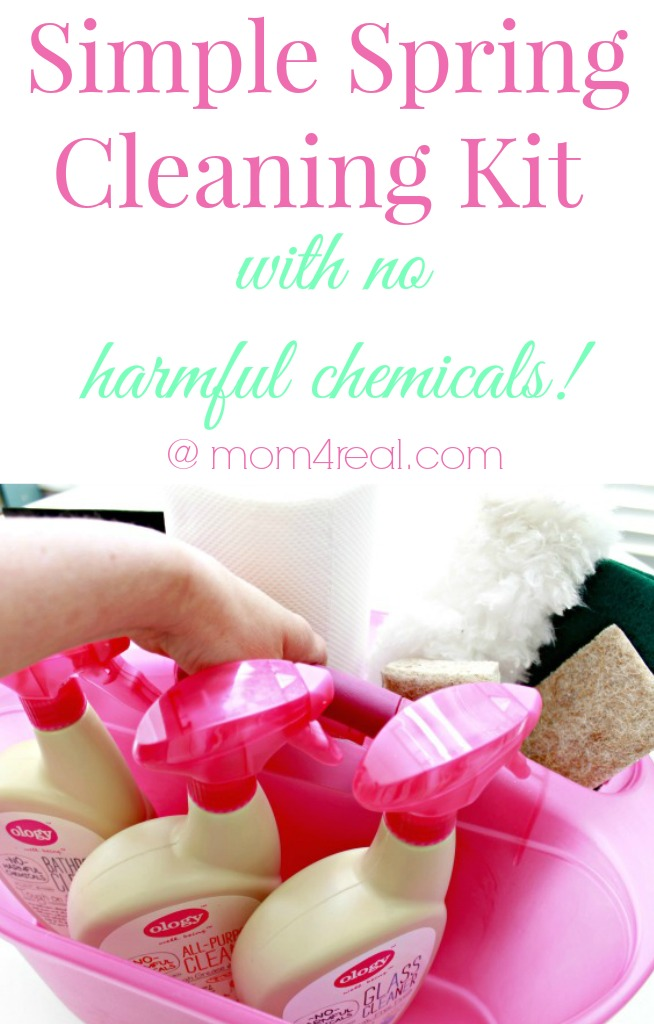 Simple Spring Cleaning Kit With No Harmful Chemicals