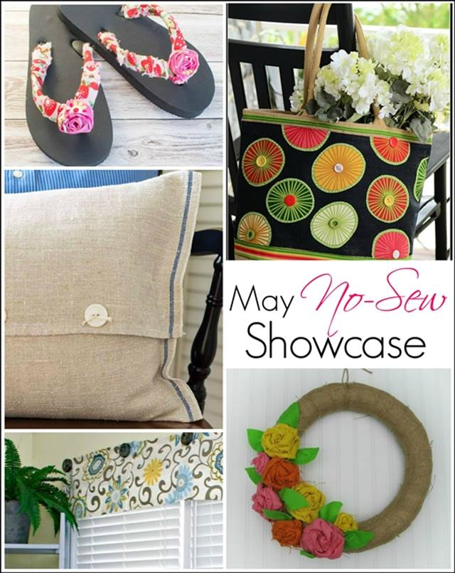 5 Fabulous No Sew Projects