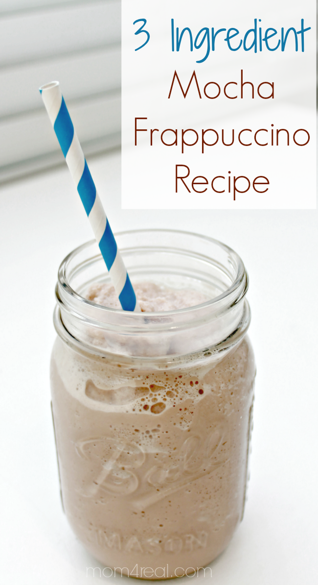 3 Ingredient Mocha Frappuccino Recipe