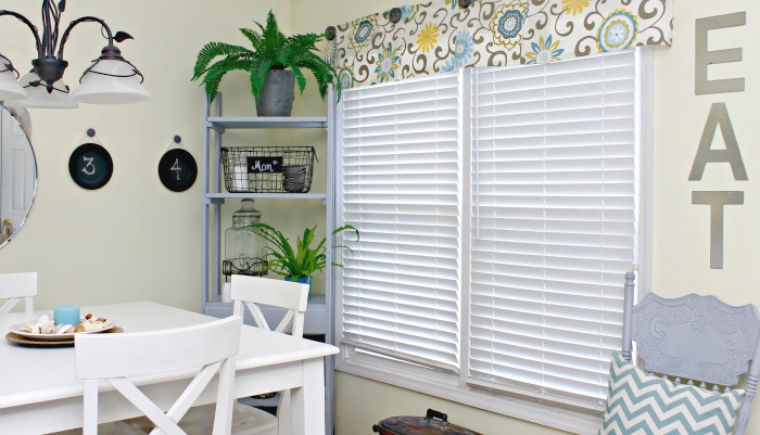 Easy No Sew Valance