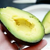 Easy way to cut an avacado
