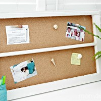 Make a Window Cork Board using Elmer's Foam Cork Board