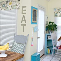 Easy No Sew Valance & 4 More No Sew Projects