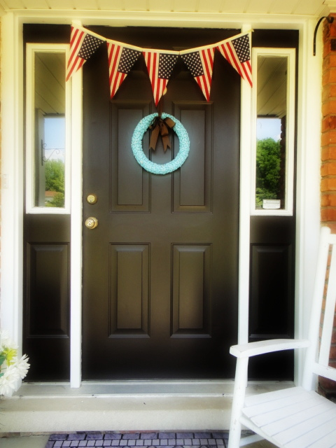 19 - All Thigns with Purpose - DIY American Flag Bunting