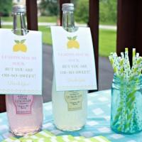 Lemonade Hostess Gift {with FREE printable tags!}