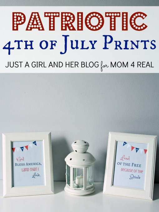 Free Patriotic 4th of July Printables