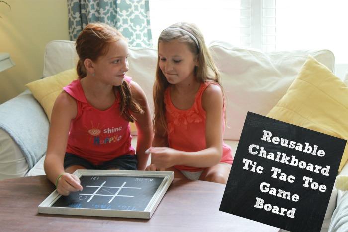 Reusable-Chalkboard-Tic-Tac-Toe-Game-Board