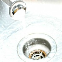 Salt-and-boiling-water-to-clear-drains